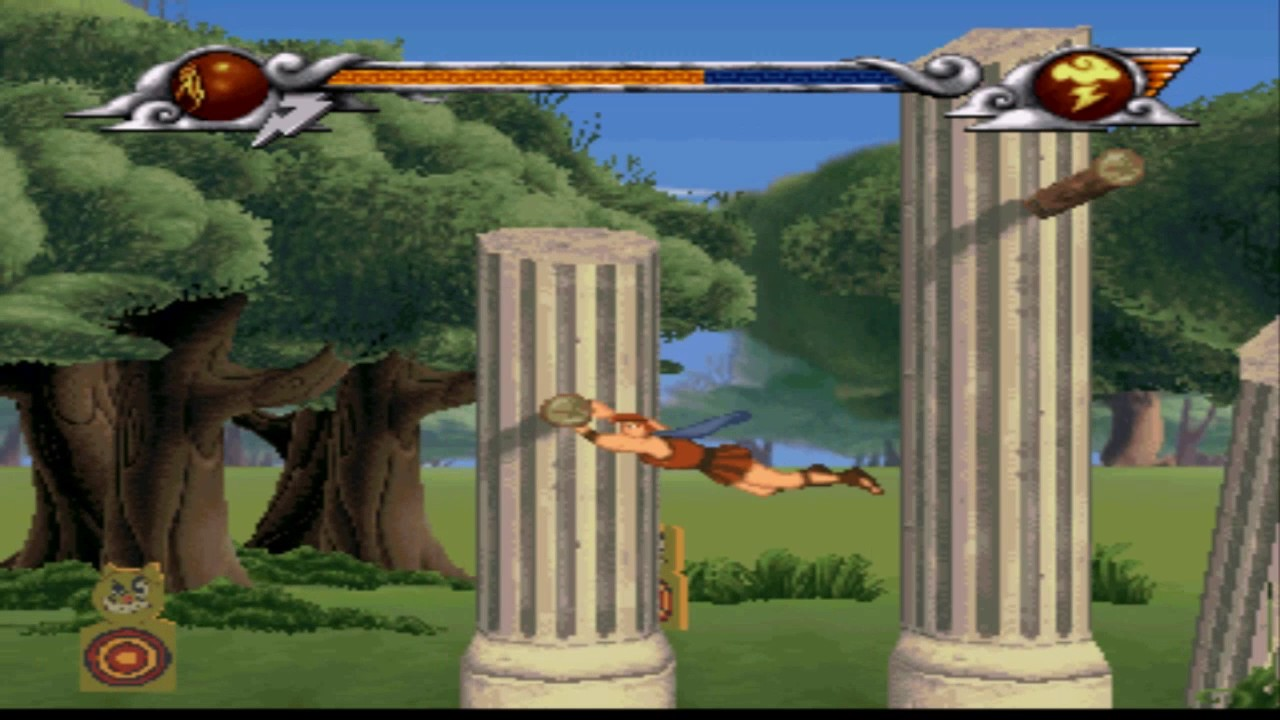 Download הרקולס משחק 1997  שלב -Hercules Action Game - Level 1