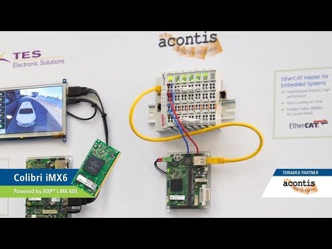 acontis EtherCAT on Toradex System on Modules