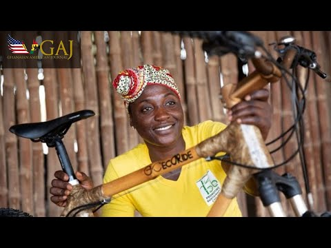 GAJ Interview with the Founder/CEO Ghana Bamboo Bikes Initia