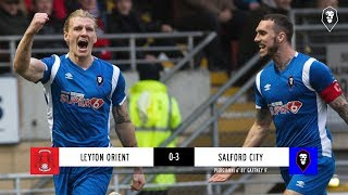 Leyton Orient 0-3 Salford City | The National League 05/01/19