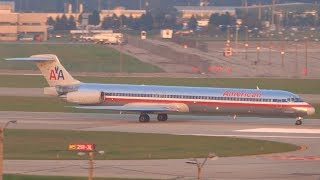 LOUD DC-9/MD-80 Departure Montage at DTW! (2013)