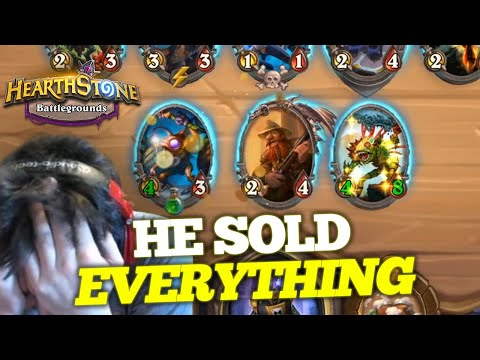 HE SOLD EVERYTHING - Sell Everything for Murlocs by Frozen | Firebat Hearthstone Battlegrounds