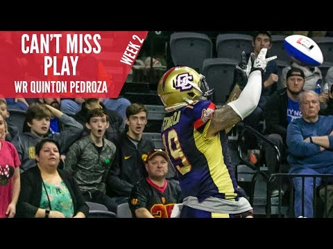 Can't Miss Play: Quinton Pedroza - Week 2