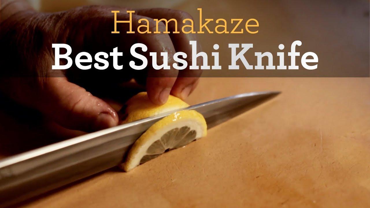 best sushi knife inside my kitchen youtube