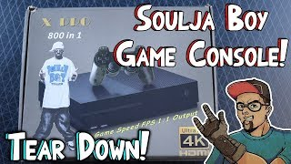 The Soulja Boy Game Console! Tear Down & Unboxing! Seriously? What! LOL! SouljaGame