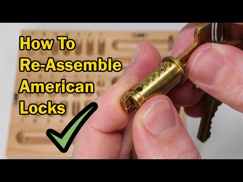 Tips and Tricks On How To Re-Assemble An American Lock Padlock
