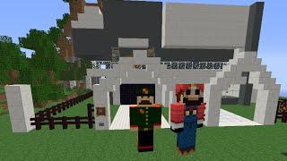 Лучший Механический Дом в Minecraft 1.7.2 +