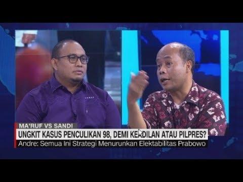 Debat Panas Jubir Prabowo & Adik Widji Thukul Soal Penculikan Aktivis 98