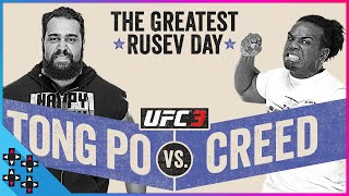 UFC 3: RUSEV vs. AUSTIN CREED - THE GREATEST RUSEV DAY - Gamer Gauntlet