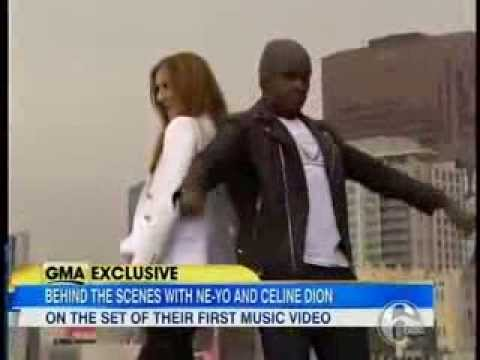 Celine Dion and Ne Yo- Incredible( Good Morning America Interview)2014