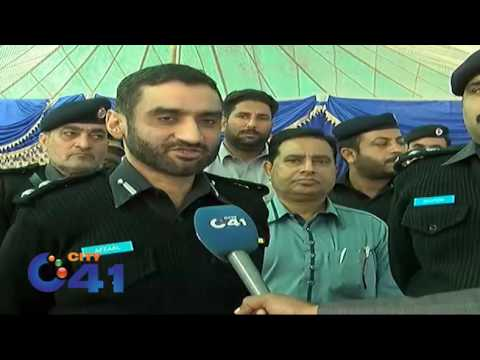CPO Afzal Kosar organised lunch for families of martyred policemen
