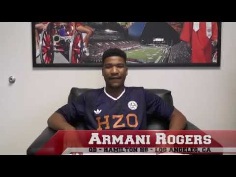 UNLV Football - Meet the Freshman: Armani Rogers
