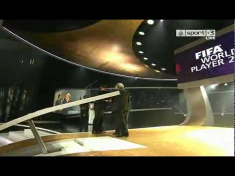 VIDEO- Fifa World Player of the Year 2009 Award Presentation.flv