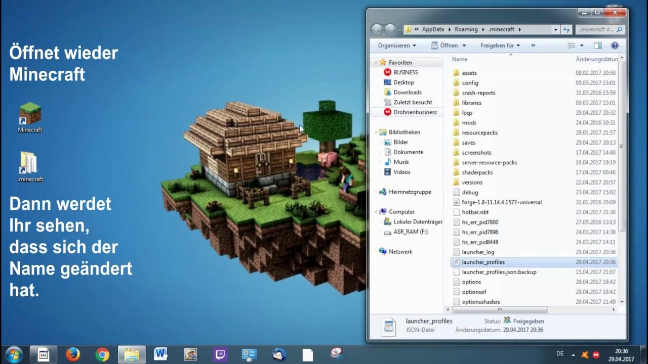 How To Minecraft LAN Spielen Mit Nur Einem Account Unter Sek - Minecraft spielen im lan