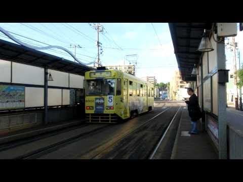 函館市電 Japan Hakodate City Tram ( Street Car )  9601 And 3004 And 8010