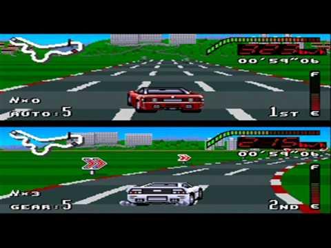 Top Gear (SNES) - Finale: UK