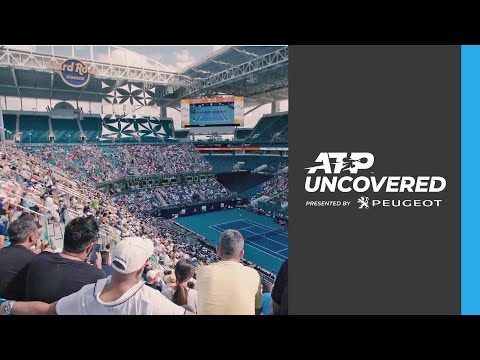Uncovered: Anderson, Raonic & More ATP Stars Lead Exclusive Miami Open Tour