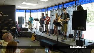 "Guitar Workshop Ensemble ""Birthday"" (Beatles Cover)  July 2013 Guitar Recital"