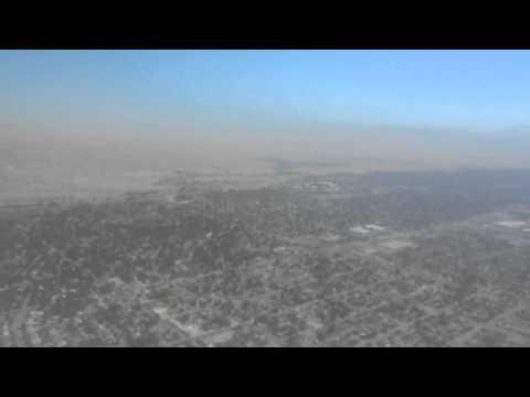 Aterrisando en el aeropuerto de Bakersfield Ca.