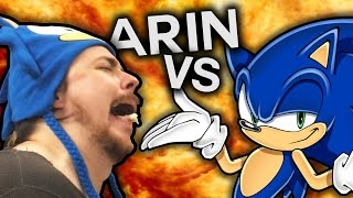 Arin Hanson VS The Sonic Twitter thumbnail
