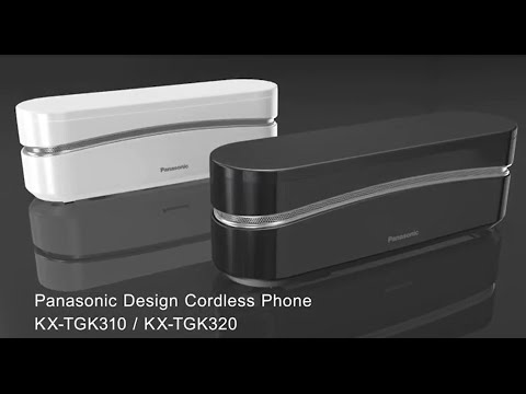 Panasonic KX-TGK3: Super Stylish Cordless Phone
