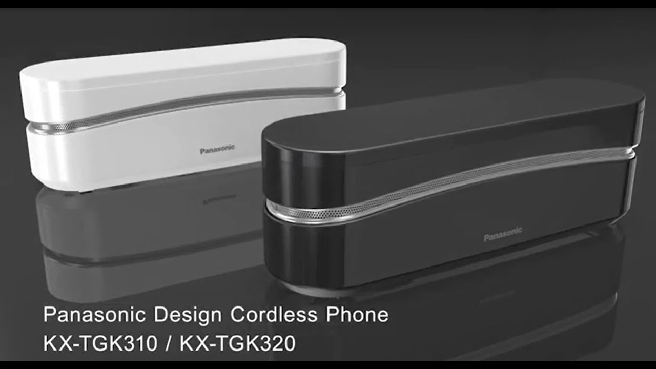 Panasonic KX TGK3: Super Stylish Cordless Phone   YouTube