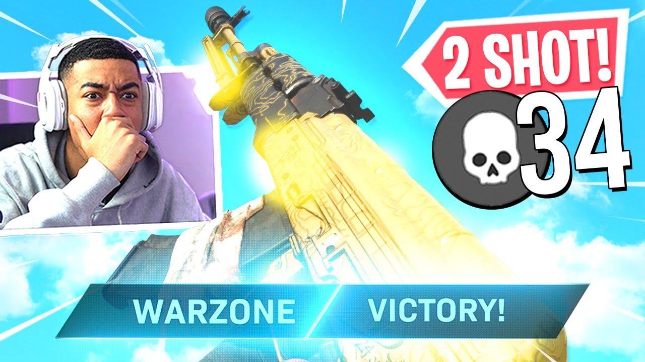2 SHOT KILL! BEST AK-47 Class Setup in WARZONE! (Modern Warfare Warzone)