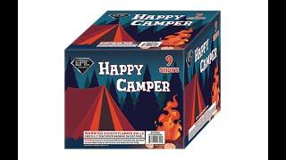 HAPPY CAMPER 9 SHOT - EPIC FIREWORKS - EP1797A