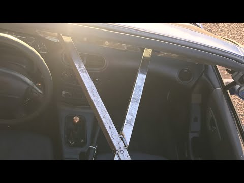 Made A Custom Roof Brace For My Del Sol