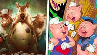 The Messed Up Origins of The Three Little Pigs | Disney Explained - Jon Solo