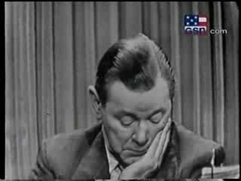 Herbert Marshall on What's My Line?