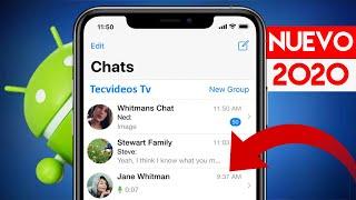 Whatsapp Estilo iPHONE en Android 2020 ¡ÚLTIMA VERSIÓN para Teléfonos Android!