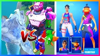 SWEATY SKINY WORLD CUP! THE ULTIMATE ROBOT CLASH WITH THE BEAST TODAY! -FORTNITE