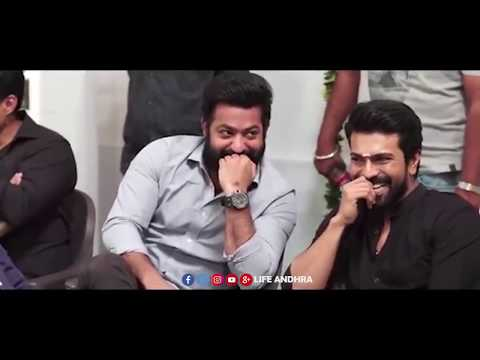 Exclusive Video: See Conversation Between Chiranjeevi and Jr NTR at #RRR Movie Launch | LA Tv