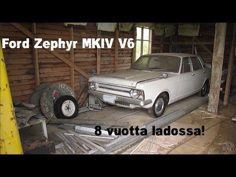 Ford Zephyr MKIV V6 - 8 Vuotta Ladossa, Lähteekö Käyntiin?