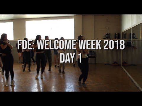 FDE: Welcome Week 2018 Day 1 Highlights [K-pop, Stage, Commercial Girls & Guys Jazz]