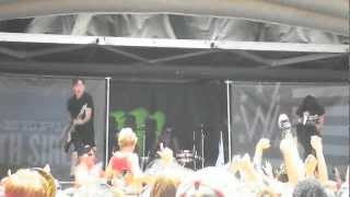 sleeping with sirens warped tour 2012 denver co do it now remember it later