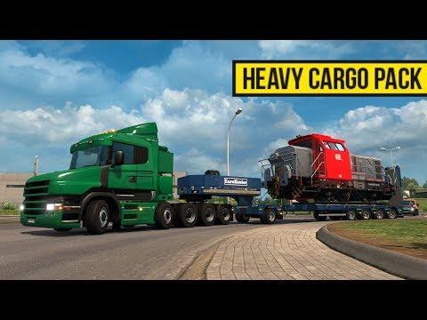 230 Toneladas | Heavy Cargo Pack | Scania T 10x6 en Francia