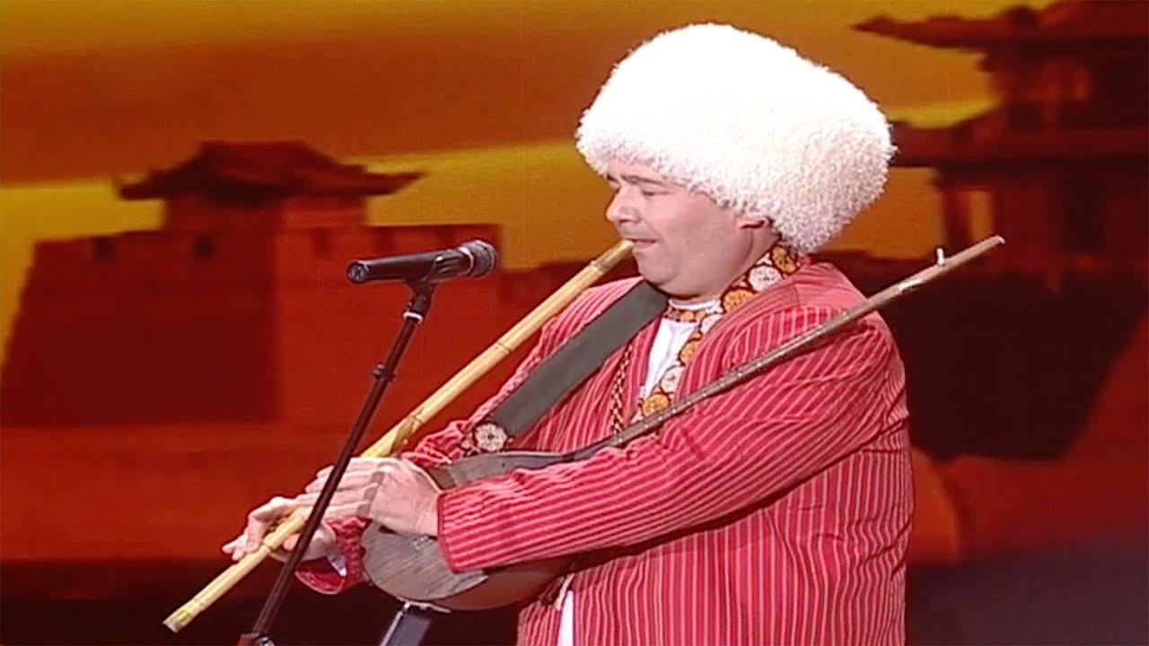Казахская народная музыкальная композиция «Адаи»