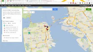 Google Maps Engine - Demo: Intro, Sharing And Embedding Locations
