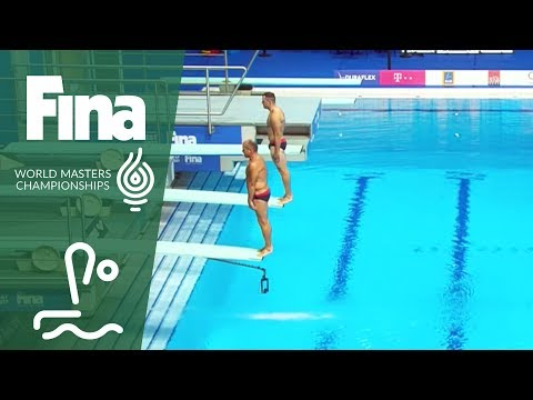 RE-LIVE - Diving Day 6: Platform, Platfrom Synchro | FINA World Masters Championships 2017 -Budapest