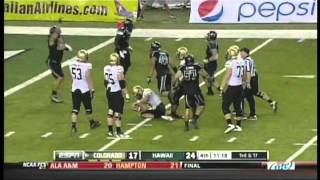 Hawaii Highlights vs.Colorado 2011