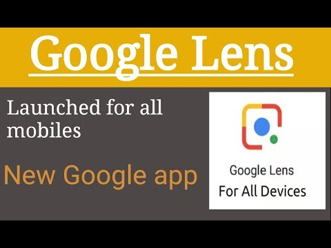 Google Lens | scan and know everything | New app of Google LLC