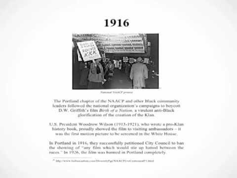 Oregon Black History Timeline - Audio Commentary