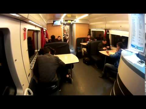 Cafe Cabin, High-speed Train in China