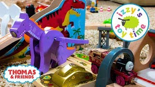 Fun Toy Trains for Kids | THOMAS AND FRIENDS DRAGON CRANE! Thomas Train with Brio Video for Children
