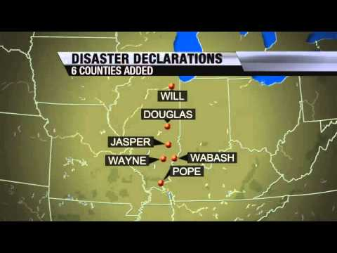Six More Counties Declared Disaster Areas