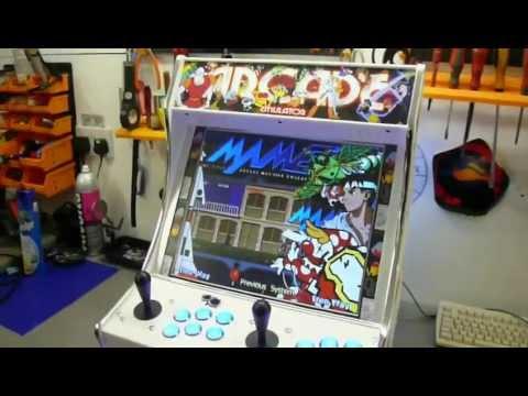 MAME Bartop Arcade Machine - YouTube