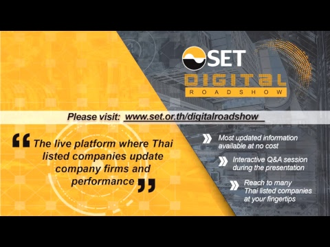 SET Digital Roadshow Advanced Info Service Public Company Limited