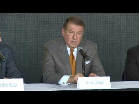 Colangelo School Of Sports Business Press Conference